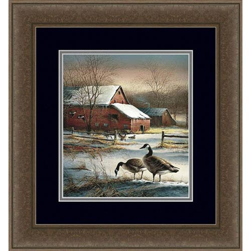 Hadley House Framed Winter Haven by Terry Redlin, 18 x 25 In. Framed Art