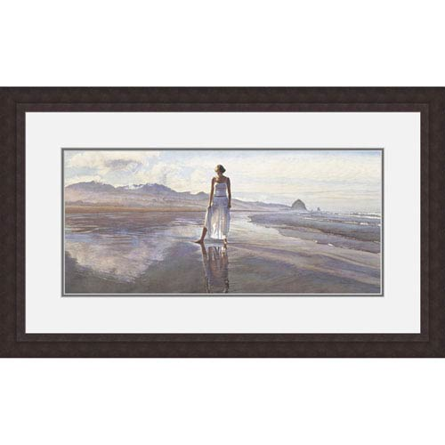 Hadley House Finding Yourself In The World by Steve Hanks, 23 x 41 In. Framed Art