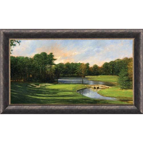 Late Day on #3 by Donny Finley: 22 x 33 Limited Edition Framed Print