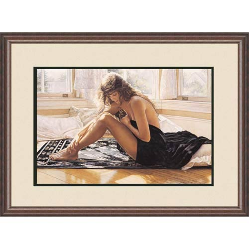 Comforting the Heart by Steve Hanks: 34 x 26.5 Limited Edition Framed Print