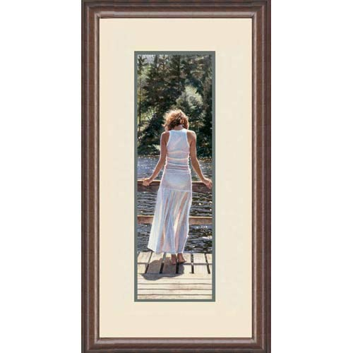 Like Diamonds in the Sun by Steve Hanks: 18 x 32.5 Limited Edition Framed Print