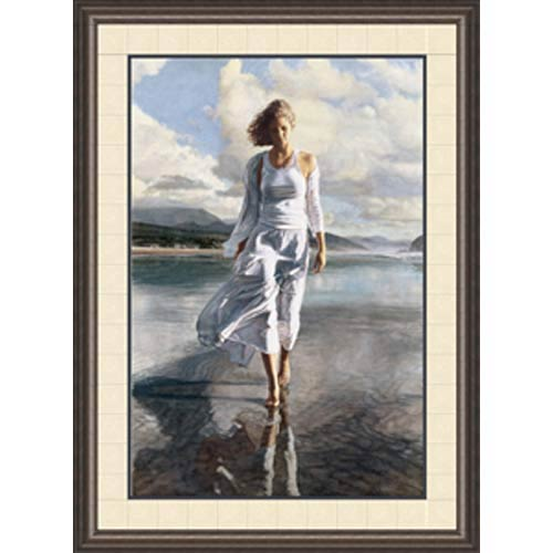 Moving On by Steve Hanks: 29 x 38 Framed Limited Edition Art Print