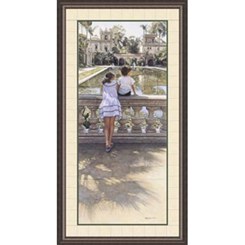 Places I Remember by Steve Hanks: 24 x 41 Framed Limited Edition Art Print
