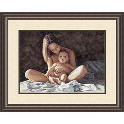 A Mother's Pride by Steve Hanks: 25 x 21 Framed Limited Edition Art Print