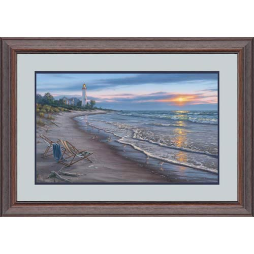 End of a Perfect Day by Darrell Bush: 39 x 27 Limited Edition Framed Print