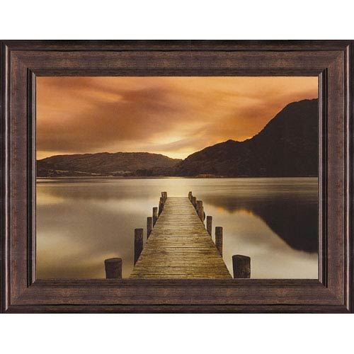 Hadley House Ullswater by Mel Allen: 30 x 23 Framed Print Reproduction