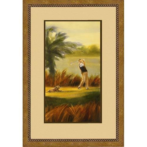 Hadley House Fairway Companion I: 23 x 40 Framed Print Reproduction