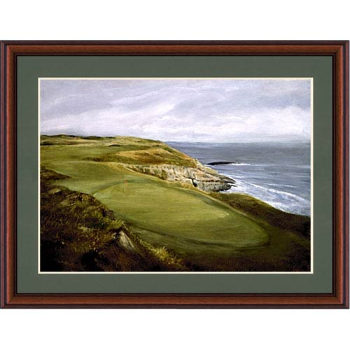 Hadley House Golf Course by the Sea by Donny Finley: 24 x 18 Framed Print Reproduction