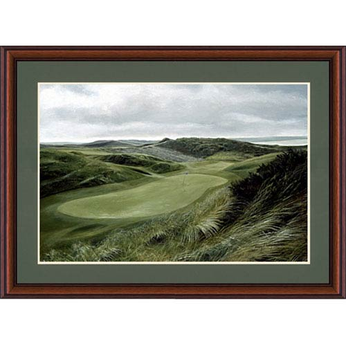 Hadley House Green Hills Golf Course by Donny Finley: 21 x 18 Framed Print Reproduction