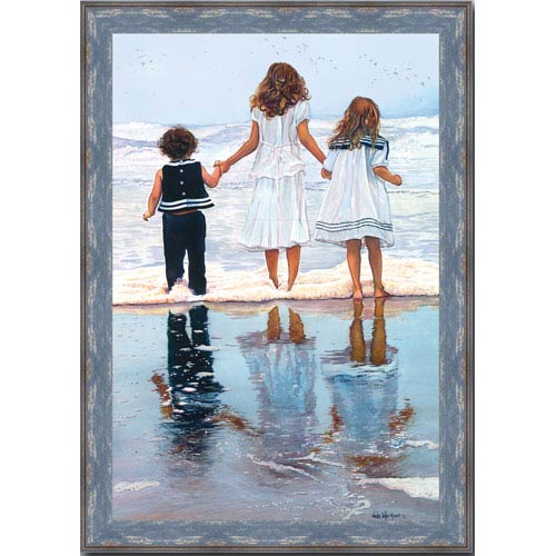 Three Wishes by WD Merrit: 20 x 25 Framed Giclee Canvas