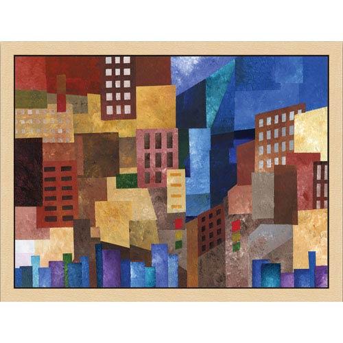 Do Not Walk by A. Freeman: 17 x 21 Framed Giclee Canvas