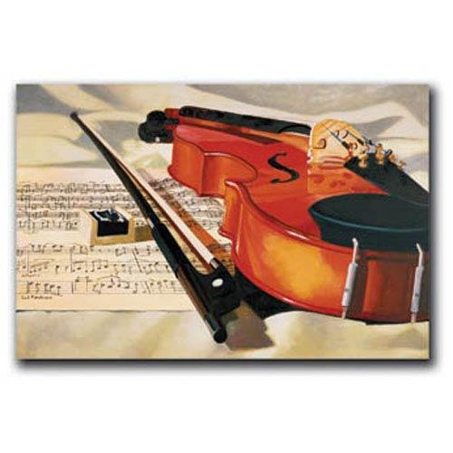 Hadley House Symphony by Denard Stalling: 12 x 8 Giclee Canvas