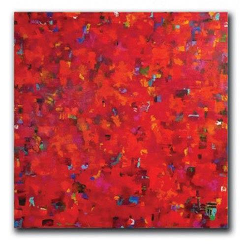 Hadley House Rioja by Jeff Boutin: 10 x 10 Giclee Canvas
