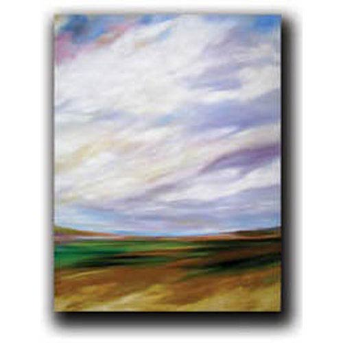 Hadley House In the Distance by Mary Johnston: 9 x 12 Giclee Canvas