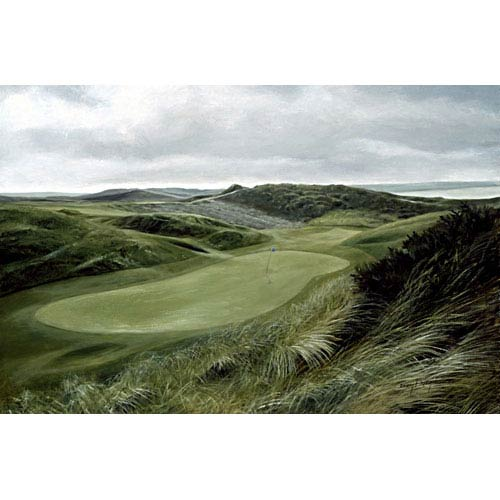 Hadley House Green Hills Golf Course by Donny Finley: 14 x 11 Gallery Wrapped Giclee Canvas