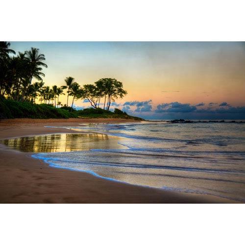 Hadley House Keawakapu Beach Maui Sunrise Hawaiian Islands by Kelly Wade, 9 x 12 In. Canvas Art