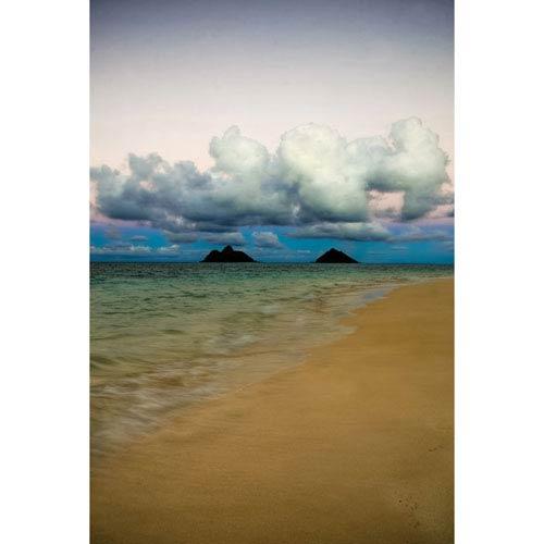 Hadley House Lanikai Hawaiian Islands by Kelly Wade, 18 x 24 In. Canvas Art