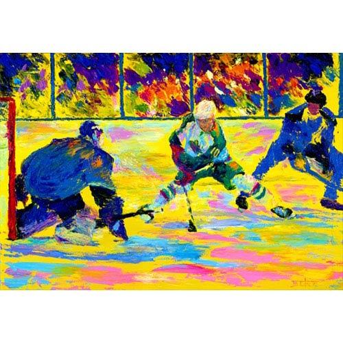 Hadley House Go Wild by Robert Blehert: 24 x 18 Giclee Canvas