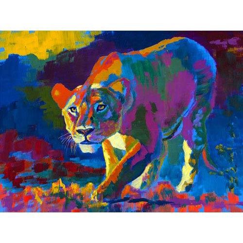 Hadley House Prowl by Robert Blehert: 24 x 18 Giclee Canvas