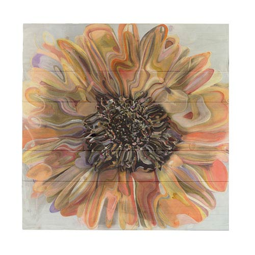 Daisy by Polly Norman, 20 x 20 In. Wood Wall Art
