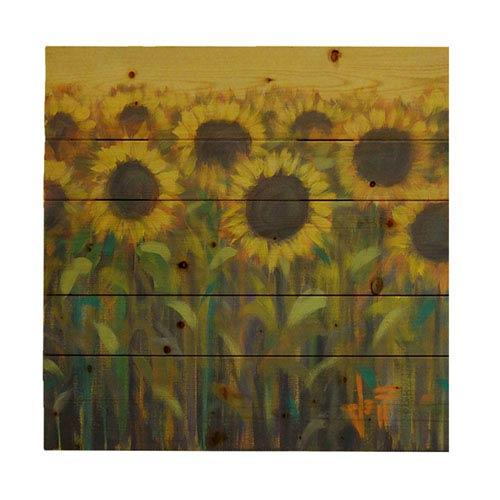 Hadley House Sun Up by Jeff Boutin, 20 x 20 In. Wood Wall Art