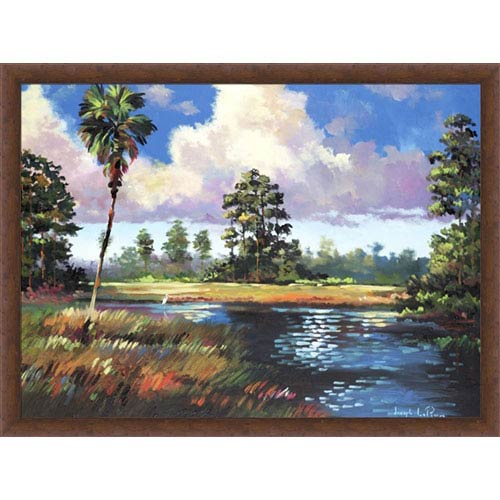 Hadley House Sweetwater Glade by Joseph LaPierre: 12 x 9 Print Reproduction