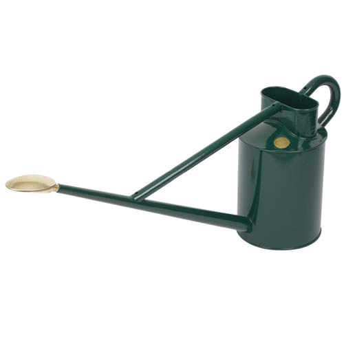 Haws Professional Outdoor 8.8 Liter Green Metal Watering Can