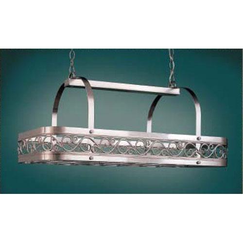 Odysee Satin Steel Hanging Pot Rack