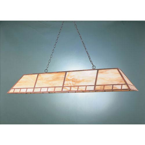 Rosewood 16-Inch Two-Light Billiard Light
