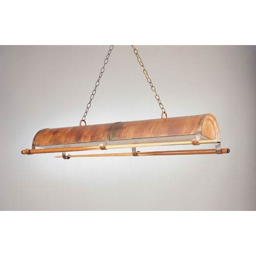 Rosewood 12-Inch Two-Light Billiard Light