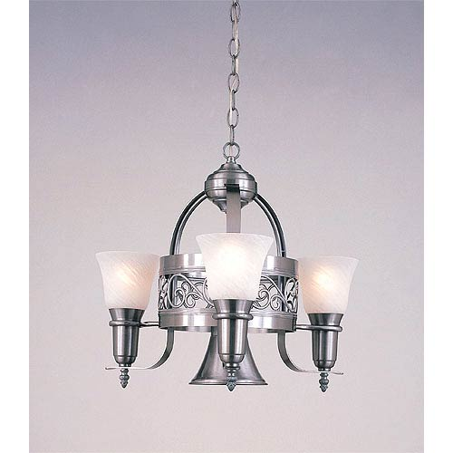 Odysee Four-Light Chandelier