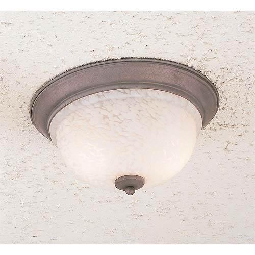 Mouchette Two-Light Flush Mount Ceiling Light
