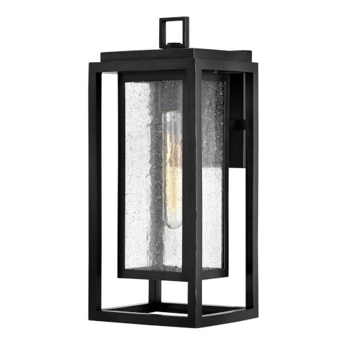 Republic Black 16-Inch One-Light Outdoor Wall Mount