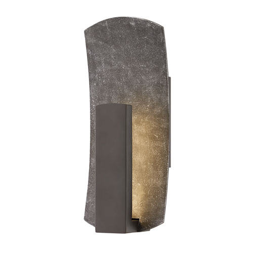 Bend Bronze 14-Inch LED Outdoor Wall Sconce