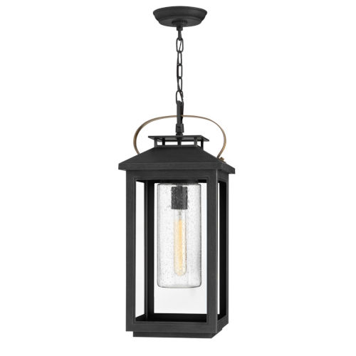 Atwater Black One-Light Outdoorpendant