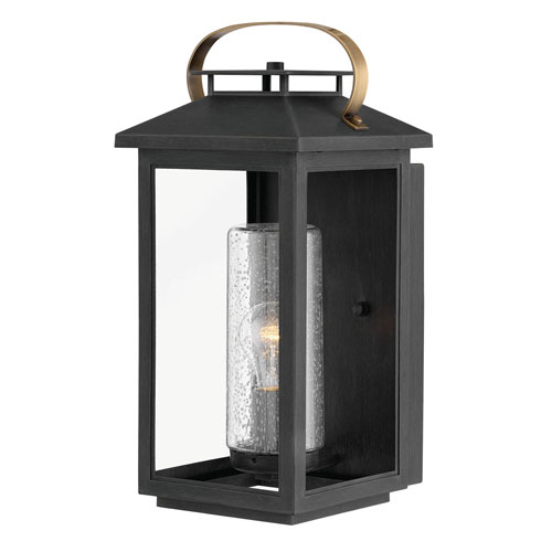 Atwater Black 18-Inch One-Light Outdoor Wall Sconce