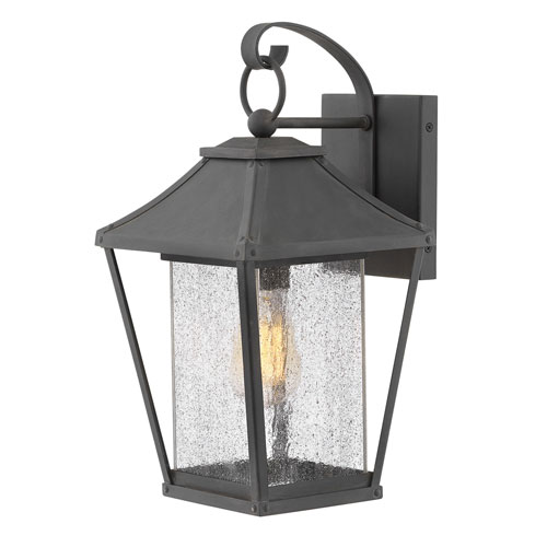 Palmer Museum Black 16-Inch One-Light Outdoor Wall Sconce