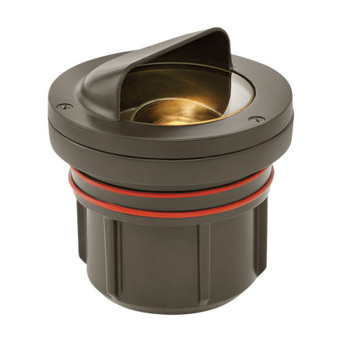 Bronze LED Shielded Well Accent Spot Light with Clear Lens