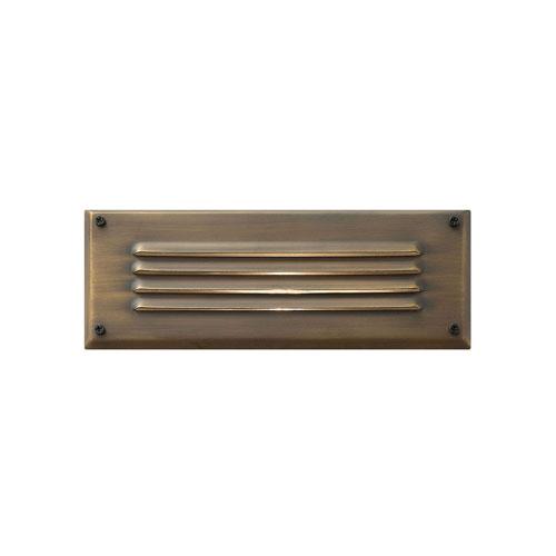 Hardy Island Matte Bronze 9-Inch LED Deck Light