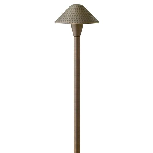 Hardy Island Matte Bronze 23-Inch LED Path Light