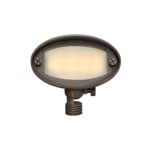 Hardy Island Matte Bronze LED Accent Light