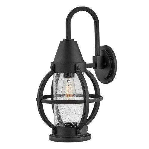 Chatham Museum Black 20-Inch One-Light Outdoor Wall Mount