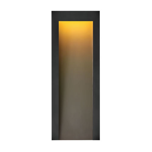 Taper Textured Black Nine-Inch Led Outdoor Wall Mount