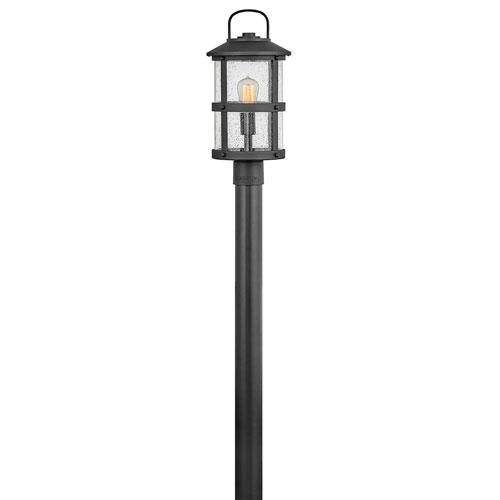 Lakehouse Black LED Outdoor Post Mount