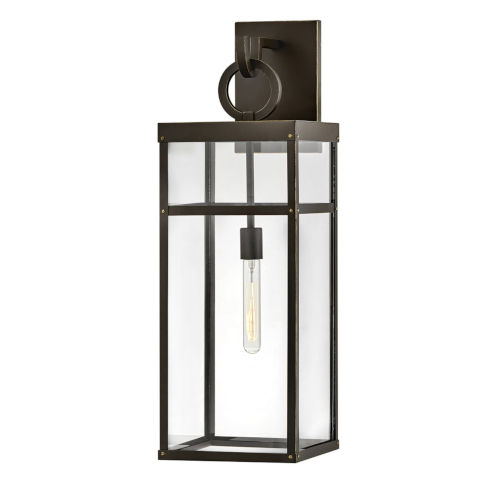 Porter Oil Rubbed Bronze One-Light Outdoor Wall Mount