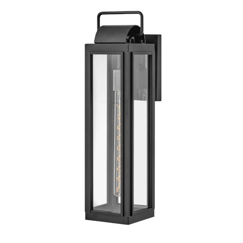 Sag Harbor Black 21-Inch One-Light Outdoor Wall Mount