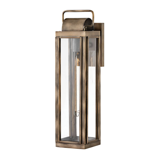 Sag Harbor Burnished Bronze 21-Inch One-Light Wall Mount