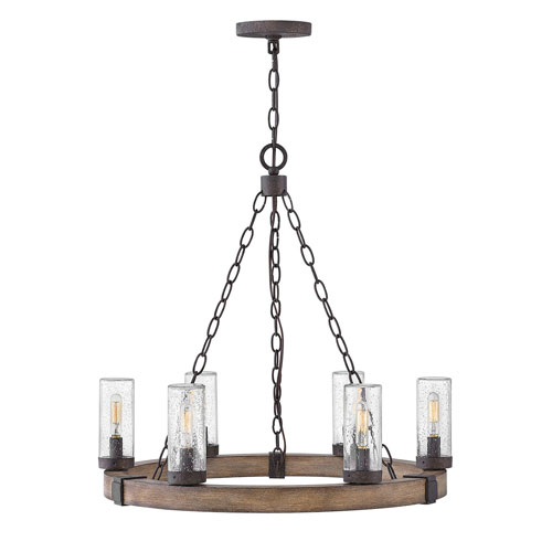 Sawyer Sequoia Six-Light LED Outdoor Pendant