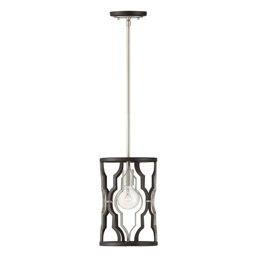 Portico Metallic Matte Bronze One-Light Mini Pendant