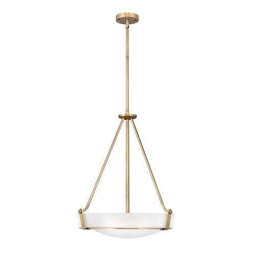 Hathaway Heritage Brass Four-Light Chandelier